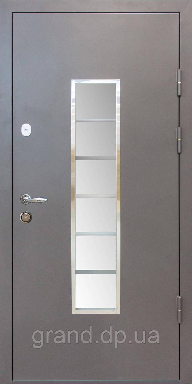 Двери входные металлические Уличные К1 Магда 140/4 Венге горизонт темный Винорит