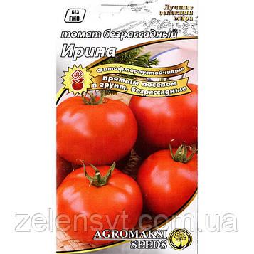 Насіння томату безрассадного ультрараннего, низькорослого «Ірина» (0,4) від Agromaksi seeds