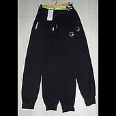 Трикотажные штаны спортивные на мальчика подростка оптом GRACE  140--170см