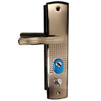 Ручка на бронированные двери без подсветки Левая (стальная)