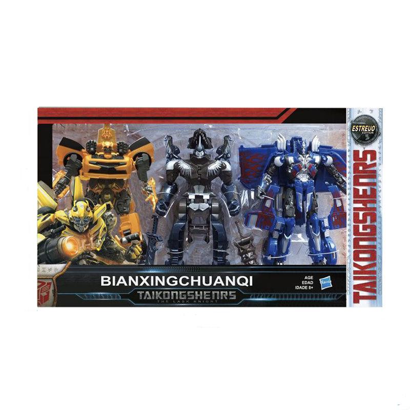 Набор Трансформеры Автоботы Бамблби, Оптимус Прайм, Гримлок Transformers 3 в 1