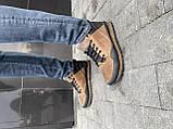 Чоловічі кросівки шкіряні зимові чорні-коричневі Anser 100, фото 2
