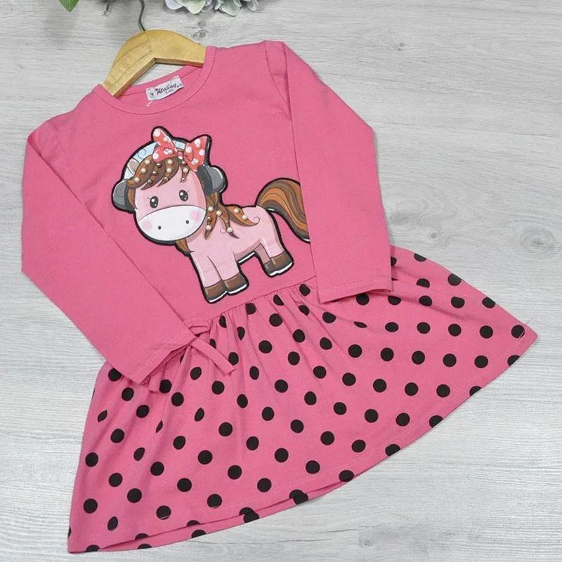 Дитяче трикотажне плаття, розмір 1-4 роки (4 од. уп. ), Малиновий