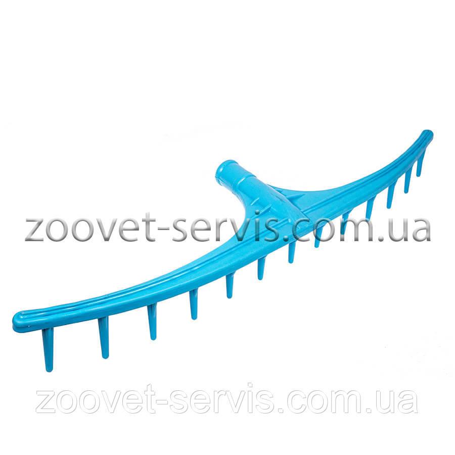 Грабли-насадка садовые пластиковые (13 зубьев)