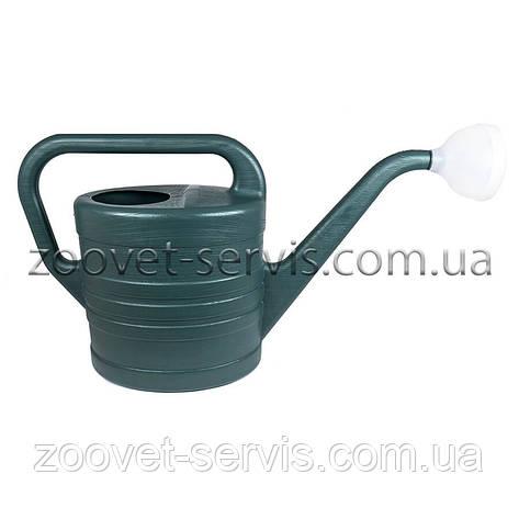 Лейка для цветов садово-огородная пластиковая 8 л, фото 2