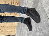 Чоловічі черевики шкіряні зимові чорні матові StepWey 7260, фото 3