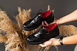 Женские туфли кожаные весна/осень черные-лак Carlo Pachini 2525/21-13, фото 9