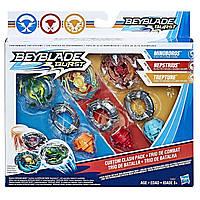 Іграшка вовчок Бейблэйд Вибух Beyblade Burst Custom Clash Pack