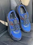 Чоловічі кросівки текстильні літні сині Anser P5 з, фото 2