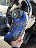 Чоловічі кросівки текстильні літні сині Anser P5 з, фото 3