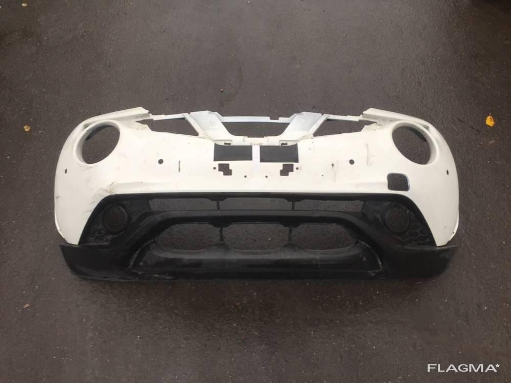 Бампер передний Nissan Juke 62022BV80H оригинал От2014-20гг =3000грн Юбка переднего бампер
