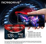 Карта памяти MicroDrive ZQ016 для планшета и телефона Micro SD 64 Gb, фото 5