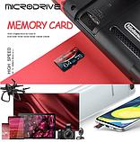 Карта памяти MicroDrive ZQ016 для планшета и телефона Micro SD 64 Gb, фото 4