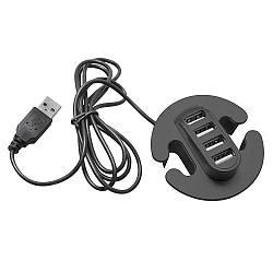 Разветвитель GTV для USB на 4 порта Черный