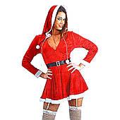 Платье Мисс Санты XL 090720-043