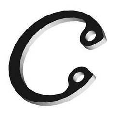 Кольцо стопорное внутреннее 100 DIN472 METALVIS