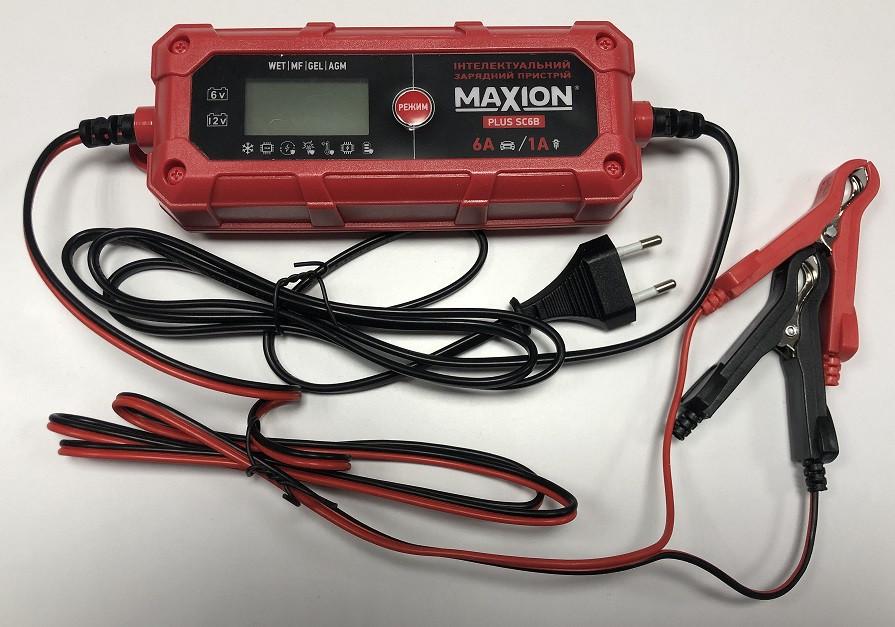 Автоматическое зарядное устройство для акумулятора MAXION PLUS-SC6B