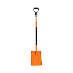 Лопата совкова з підвищеним бортом з метал. черешком з DY ручкою наконечником FLO 35863