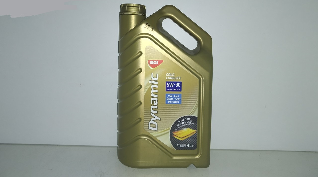 Моторне масло MOL Dynamic Gold Longlife 5W-30 4л