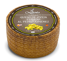 Cыр овечий с вином Педро Хименес 48% 6 мес La Leyenda 3кг