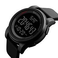 Спортивные мужские часы Skmei 1257 черные