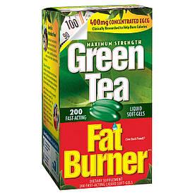 Green Tea Fat Burner 400mg - Сжигатель жира с зеленым чаем (200пак.)