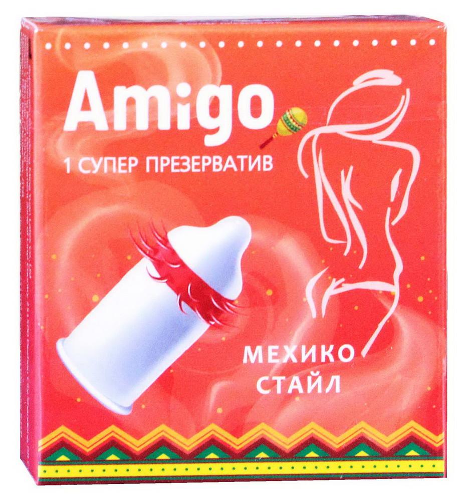 """Презерватив Amigo """"Мехико стайл""""  №1"""