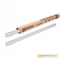 Лампа світлодіодна трубчаста ЕВРОСВЕТ 18Вт 4000K L-1200-4000-13 T8 G13 Eco