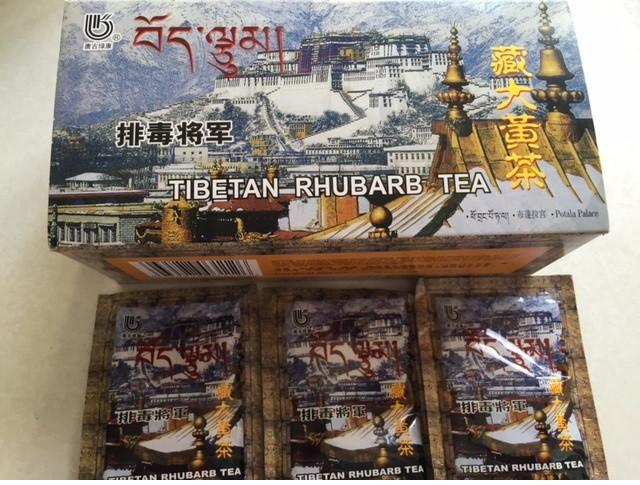 Чай для выведения шлаков из ревеня ( 20 пакетиков ) ДоЮань