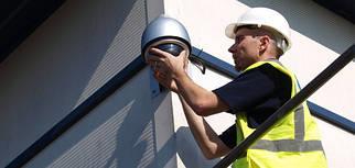 Монтаж систем пожарной, охранной сигнализации, видеонаблюдения