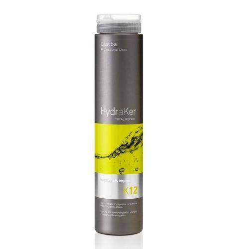 Шампунь кератиновый без сульфатов Erayba HydraKer K12 Keratin Shampoo