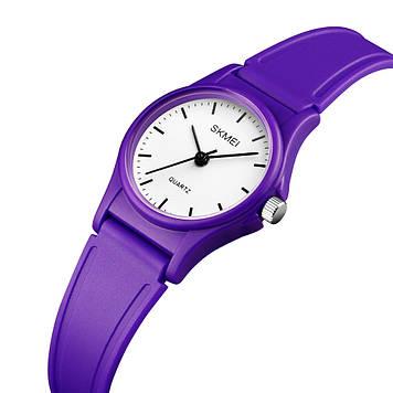 Детские часы SKMEI 1401 фиолетовые кварцевые
