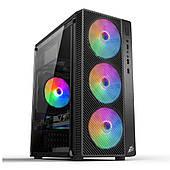 Корпус 1stPlayer A7-500BS-G6 Black 500W