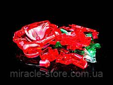 Пазл 3D кристалічний Троянда, фото 3