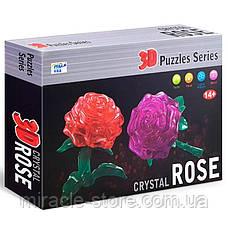 Пазл 3D кристалічний Троянда, фото 2