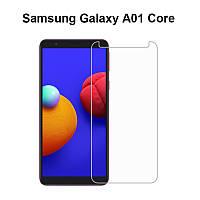 Защитное стекло Glass для Samsung Galaxy A01 Core