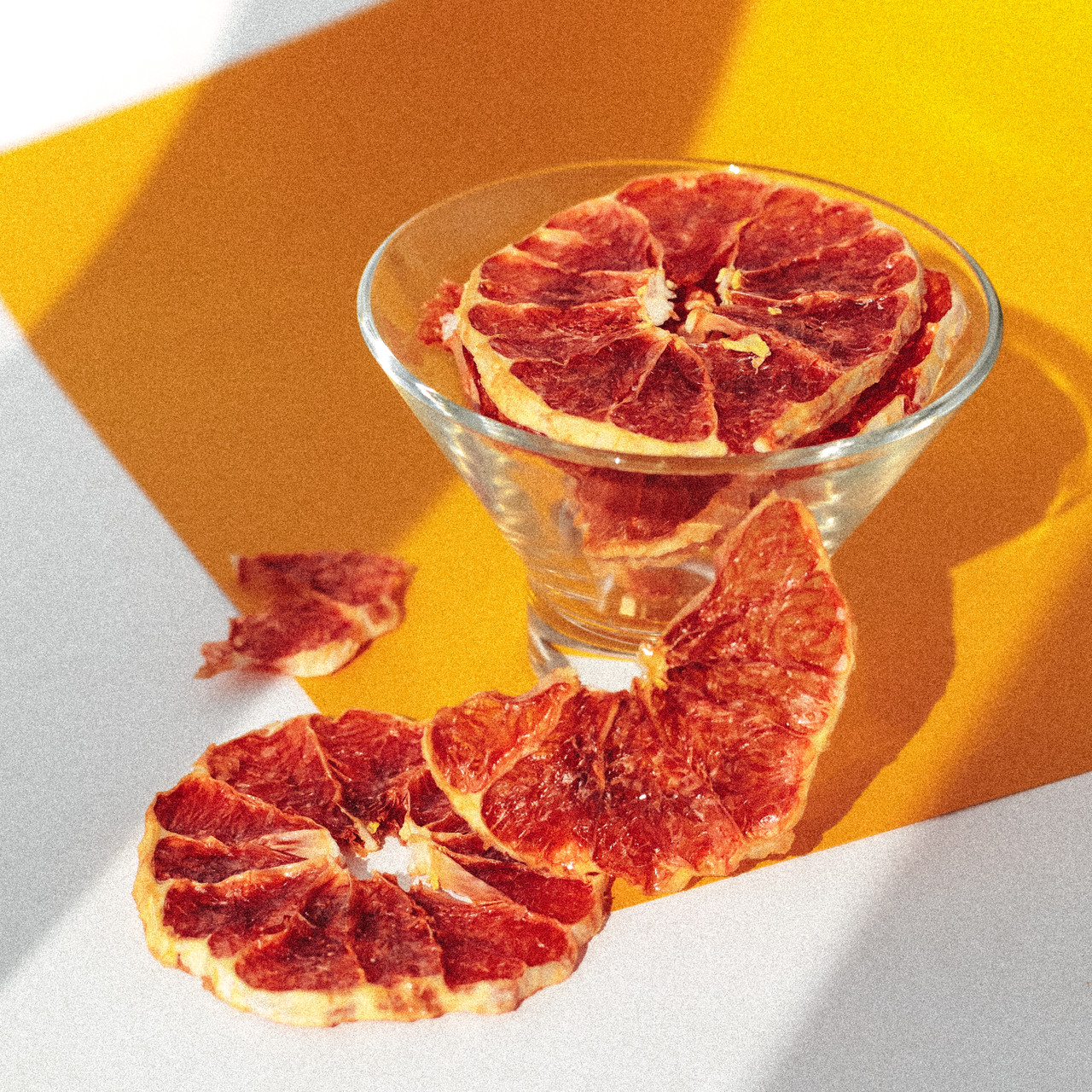 Фруктові чіпси з грейпфруту