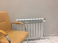 Электробатарея алюминиевая с тэном,с датчиком температуры воздуха электро терморегулятором ТЕПЛОВДОМ ( Италия)