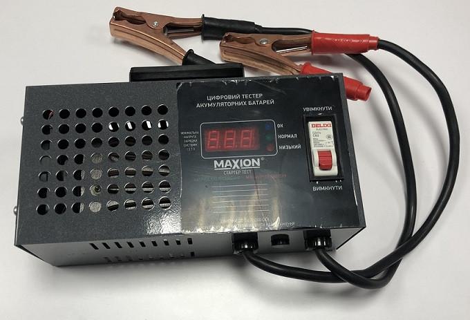 Тестер / Нагрузочная вилка для автомобильных аккумуляторов MAXION PLUS-LT12
