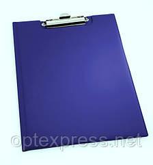 «Standard» Клипборд с зажимом для бумаги закpывающийся DURABLE 2357 07 синий