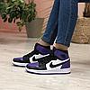 Женские кроссовки Air Jordan 1 Retro High Court Purple 555088-501, фото 5