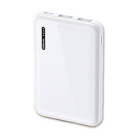 УМБ Power Bank Usams 10000 mAh mini 2xUSB, входы Micro USB/USB Type-C Белый  КОД: 2101