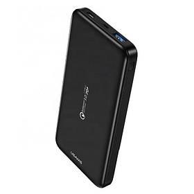 УМБ Power Bank Usams 10000 mAh mini Charge 3.0 1xUSB 1xType-C/PD, входы Type-C/MicroUSB ультратонкий Черный