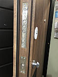 Двери металлические входные квартирные Магда 600/13 Венге южный/венге магия, фото 3