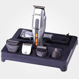 Чоловічий тример акумуляторний Gemei GM-581 8 в 1 Чорний КОД: 20053100171