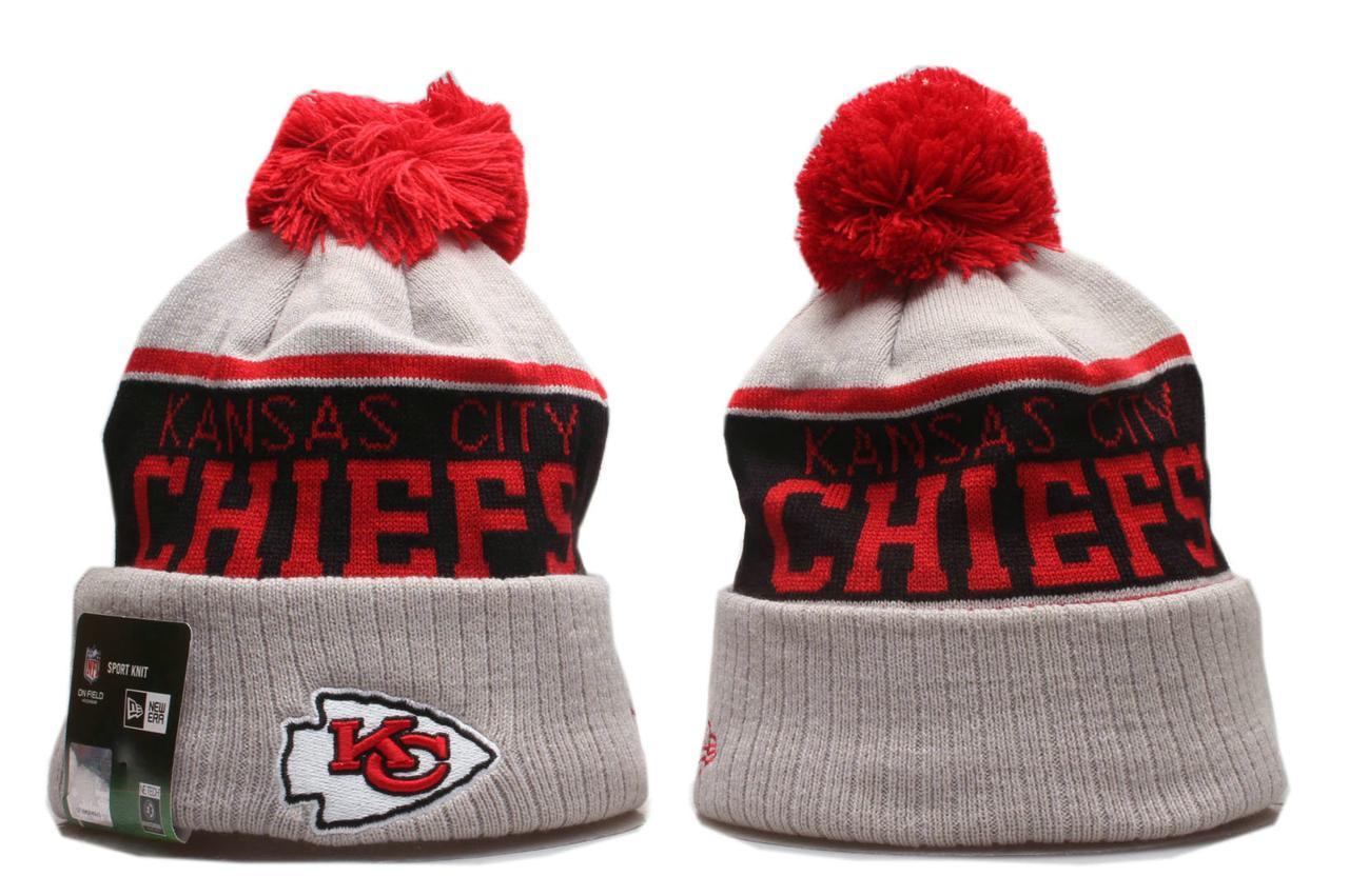 Шапка зимняя Kansas City Chiefs / SPK-338 (Реплика)
