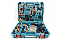 Мультифункціональний набір інструментів з шуруповертом Синій