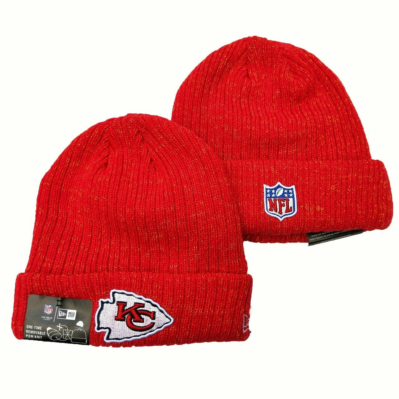 Шапка зимняя Kansas City Chiefs / SPK-339 (Реплика)