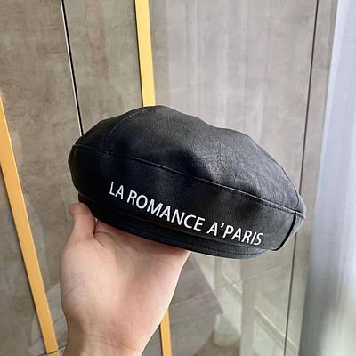 Жіноча кепка з еко-шкіри KEYSHA La Romance A'Paris color