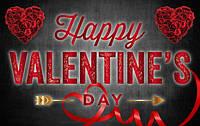 """Знижки """"Happy valentine's Day"""" до Дня Святого Валентина на парфумерію."""